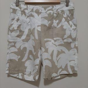 Tommy Bahama 100% Linen Shorts Size 6